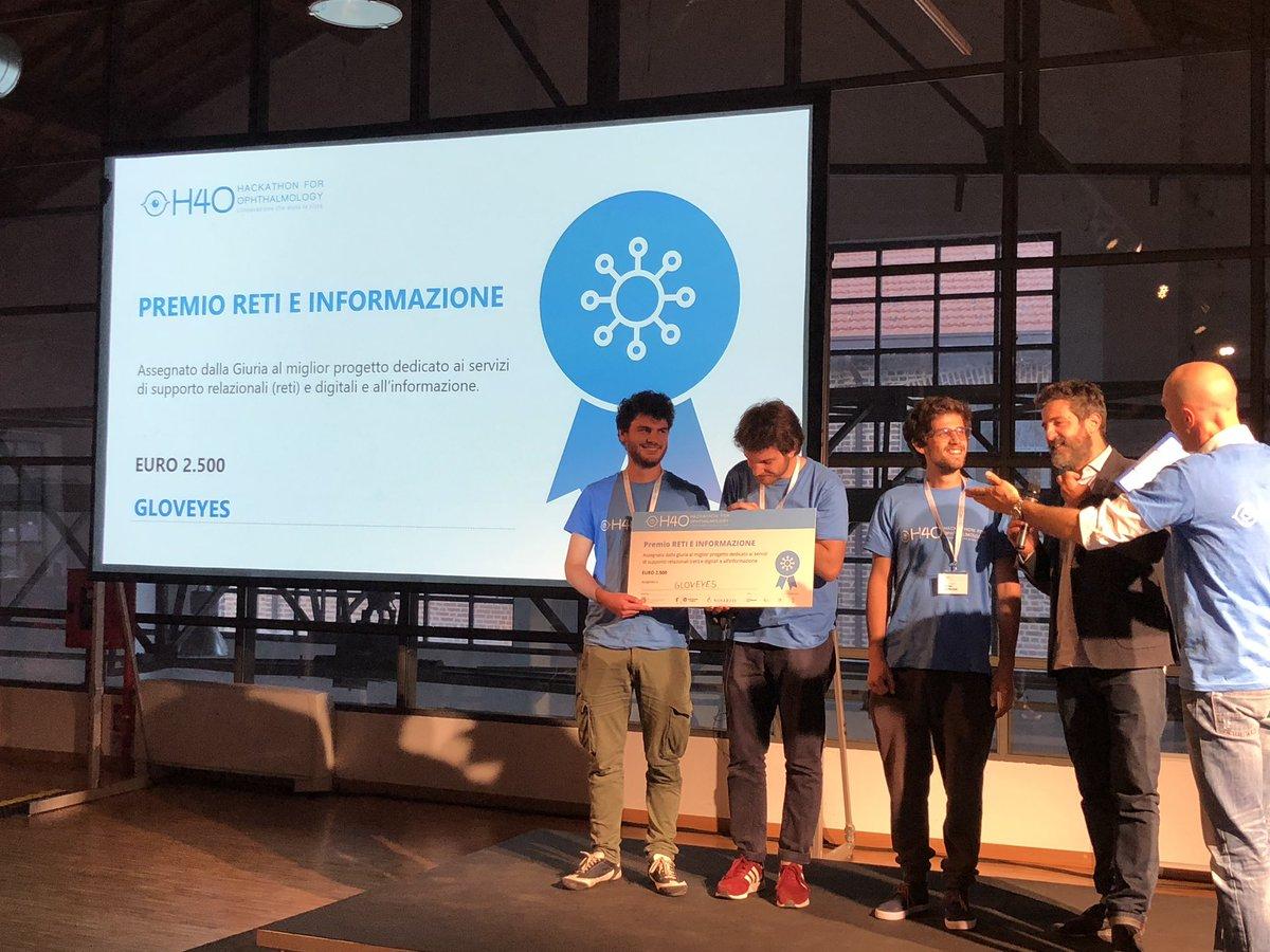 Gloveyes - vincitore premio Categoria Reti, Informazioni e Supporti