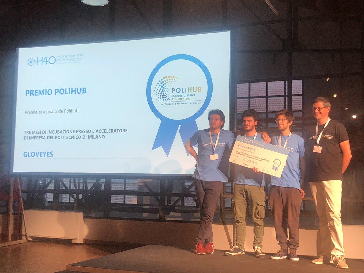 Gloveyes - vincitore premio Polihub