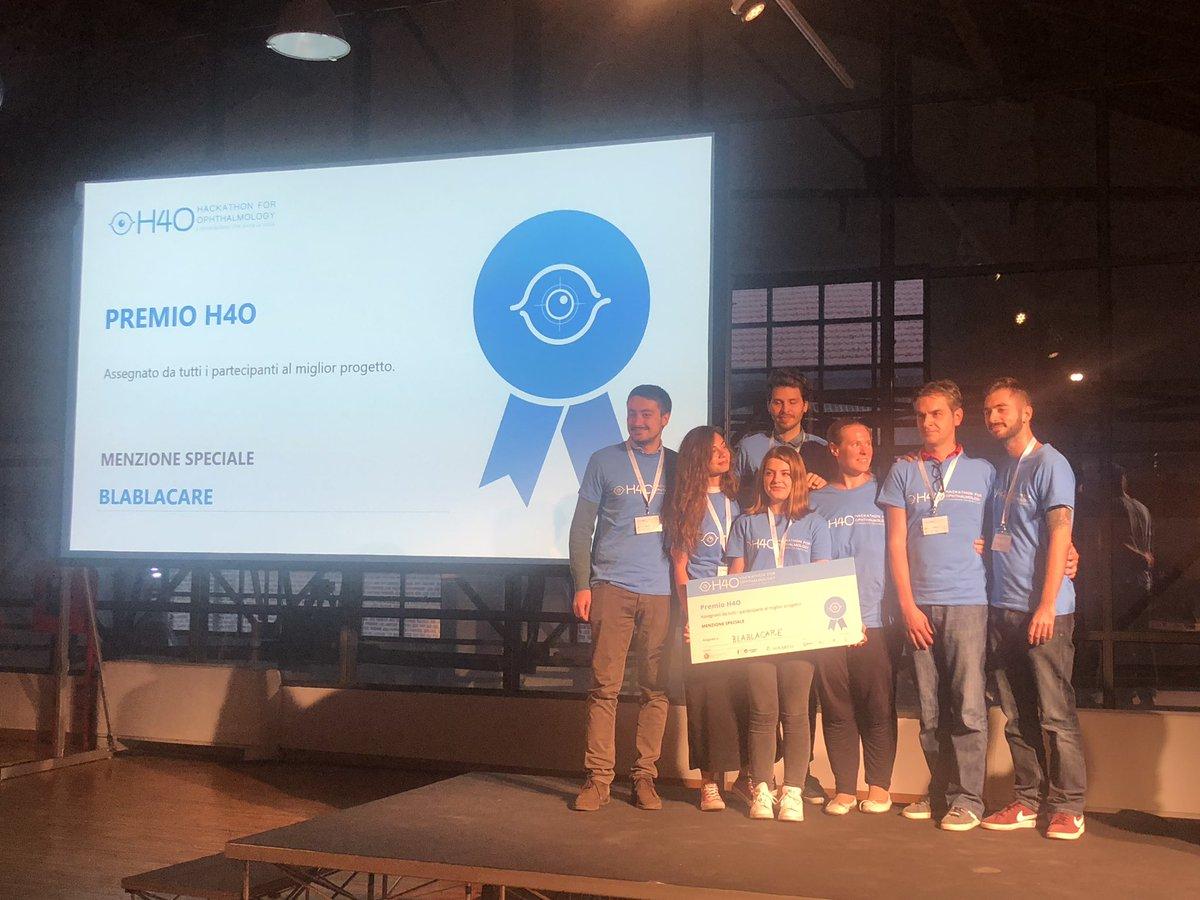 Blablacare - vincitore premio H4O