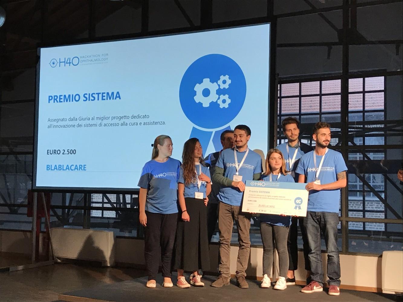 Blablacare - vincitore premio Categoria SISTEMA