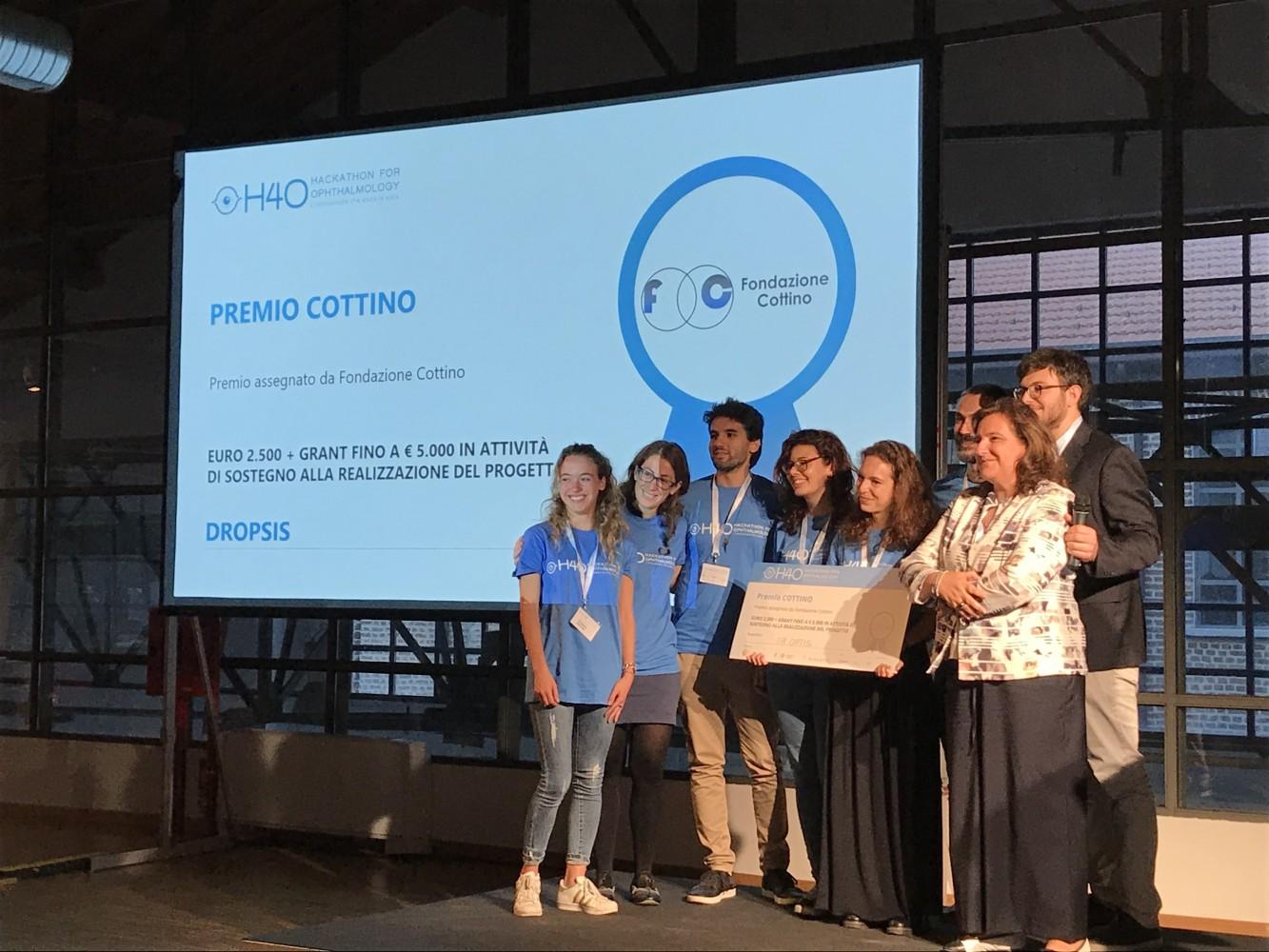 DrOpsis - vincitore premio Fondazione Cottino